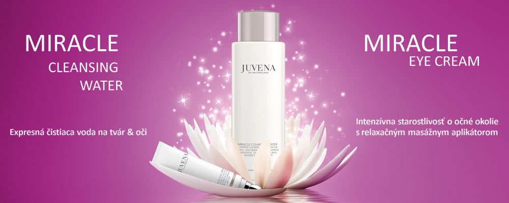 Juvena - Miracle Cleansing Water a Miracle Eye Cream